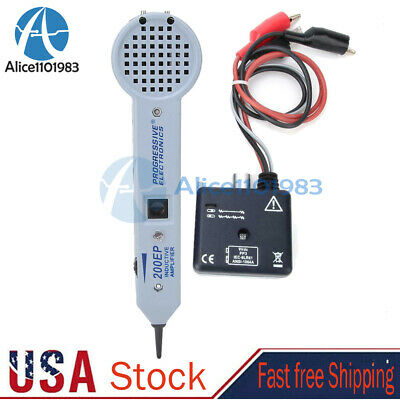 200ep Cable Tester Tone Generator Inductive Amplifier With Adjustable Volume New