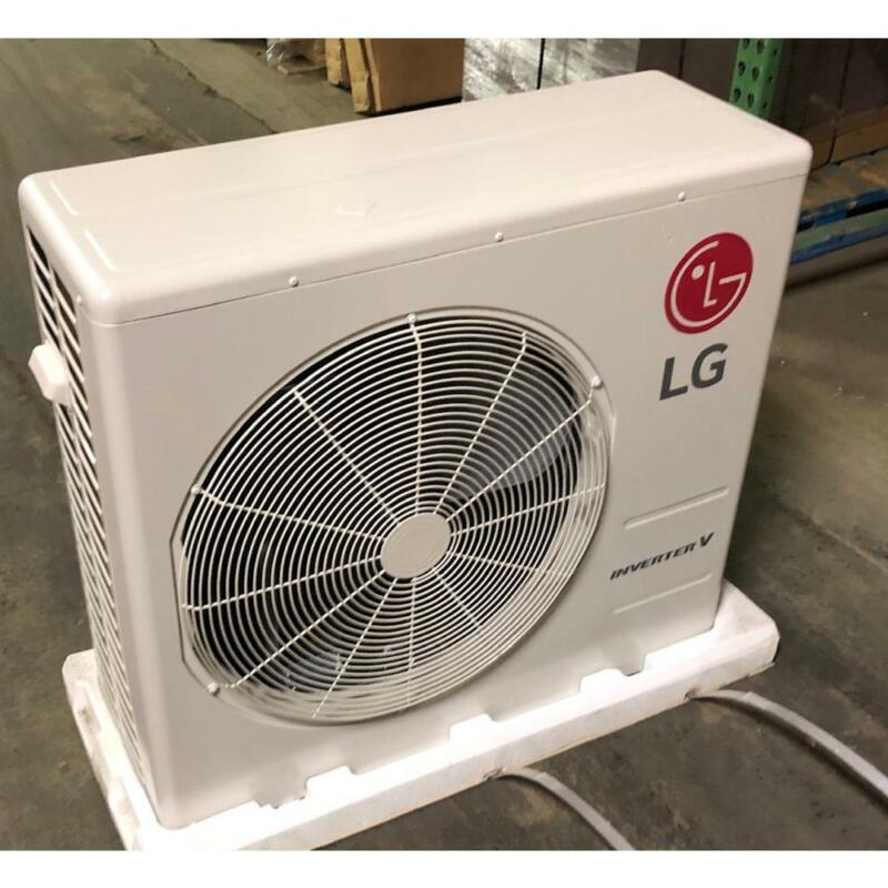 LG LSU360HV3 3 TON 1-ZONE INVERTER OUTDOOR MINI-SPLIT HEAT PUMP R410A 16.1 SEER