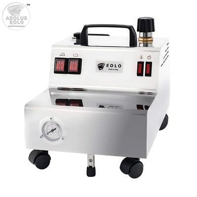 Trockenen Dampf (EOLO GV05 P Professioneller Dampfreiniger 5 Bar Trockendampf 2,4 Liter Behälter)