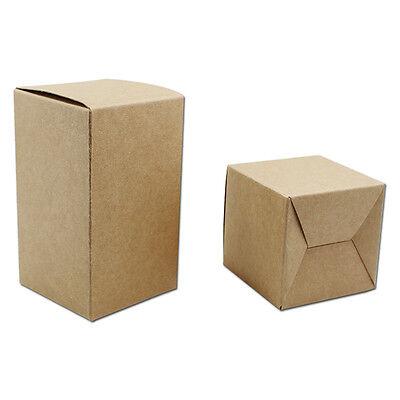 Brown Kraft Paper Foldable Card Package Box Cardboard Gift Packing Box