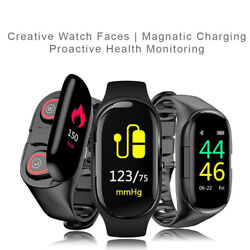 Fitness Tracker Bracelet Bluetooth Watch Water Resistant For iPhone & Android