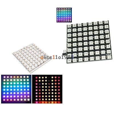 8x8 64-bit Matrix 5050 Ws2812 Led Rgb Full-color Black Driver Board For Arduino