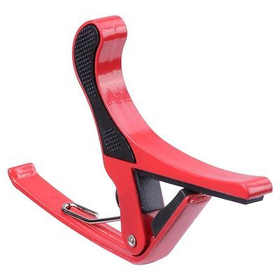 Trigger Quick Change Key Clamp Capo For Acoustic/Electric/Classic Guitar Red