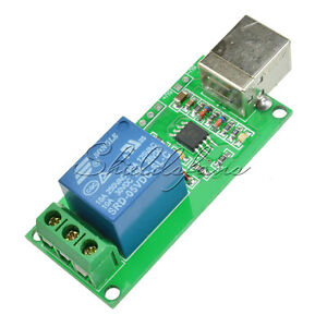 5V USB Relay 1 Channel Programmable Computer Control For Smart Home S
