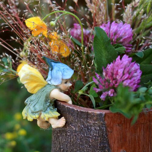 FAIRY GARDEN Miniature Fairy Figurine Pot Hugger Top Land Trading NEW See note**