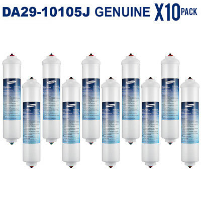 10 x SAMSUNG ORIGINAL FRIDGE WATER FILTER DA29-10105J (GENUINE SAMSUNG MODEL )
