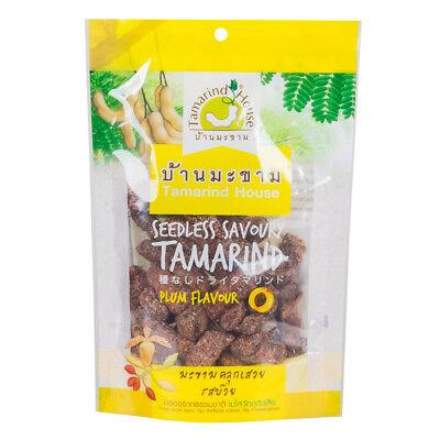 Tamarind House Thailand Halal Natural Seedless Savoury Tamarind Plum Flavour