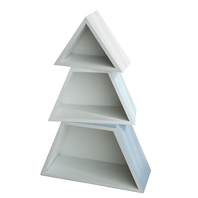 Stackable Wooden Display Box Trees for Home Decoration Scandinavian Style