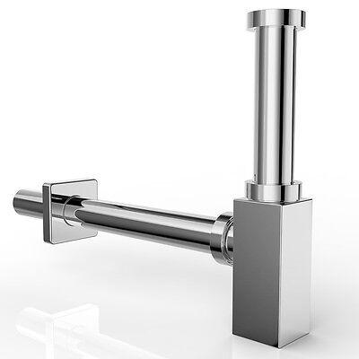 Design Siphon Sifon Röhrensiphon Messing Waschbecken Geruchsverschluss SN01 wow