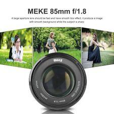 Meike 85mm F1.8 Auto Focus Portrait Prime Lens for Canon EOS EF Mount SLR Camera