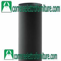 PALO ACCIAIO ZINCATO CON RIVESTIMENTO PVC 60MM PER GLOBI LAMPIONE MT.1,00