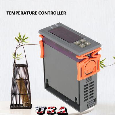 12v Fahrenheit Temperature Controller Ac 220v Thermostat Control -58248 Us