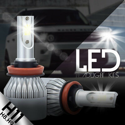 2018 COB H11 H9 H8 388W 38800LM LED Headlight Kit Hi/Lo Power Bulbs 6500K