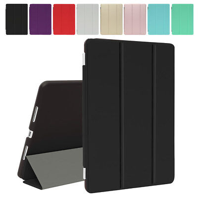 "For iPad 6th Generation 9.7"" Smart Cover Silicone Case Smart Leather Magnetic"