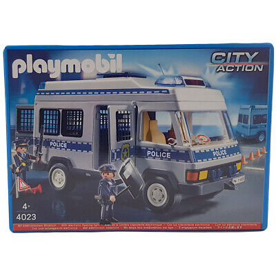 Playmobil 4023 City Action Police Personnel Carrier Playset