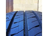 VW Transporter T5 Steel Wheels With Tyres 205/65R 16C