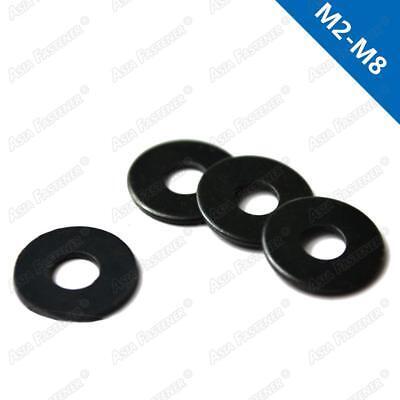 M2 / M2.5 / M3 / M4 / M5 / M6 / M8 Black-Zinc Flat Washers Plain Washers DIN125