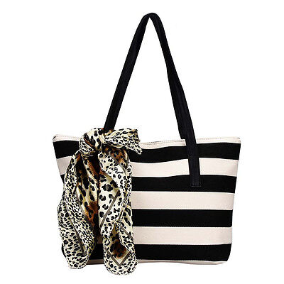 Fashion Women Bag Big Striped Plaid Ladies Handbags Shoulder Bags Students  Bag