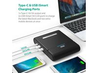 27000mAh RAVpower Power Bank for Laptops
