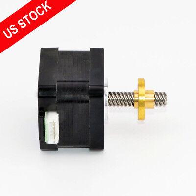 Nema 17 Stepper Motor Linear Actuator External 0.4a Lead Screw Length 32mm