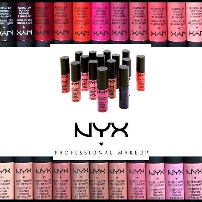 Color Gloss Lipstick - NYX Cosmetics Soft Matte Lip Cream Liquid Gloss Lipstick  SELECT COLOR