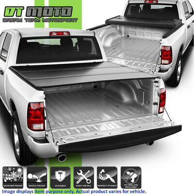 2009-2018 Dodge Ram 1500 Crew Cab 5.7FT Short Bed Hard Tri-Fold Tonneau Cover