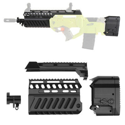 Worker F10555 Tavor X95 Bullpup Barrel Stock 3DPrint for Nerf RAYVEN Modify Toy