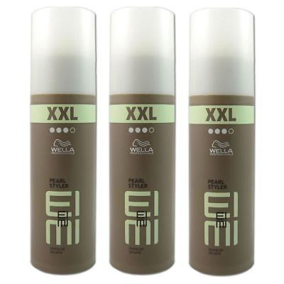 3 x Wella EIMI Pearl Styler XXL Styling Gel 150 ml Set...