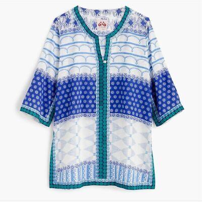 NEW J.CREW LE SIRENUSE Tunic Top Size XS/S