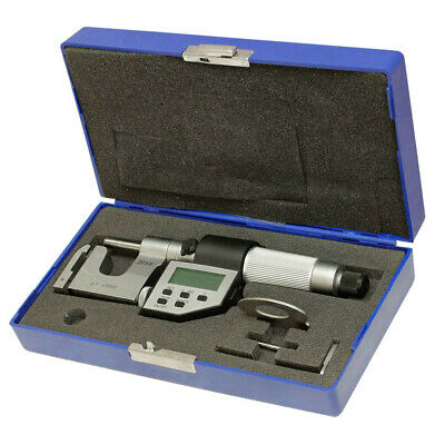 """0.00005"""" Machinist Tool Flat Anvil and Rod 0-1"""" Electronic Universal Micrometer"""