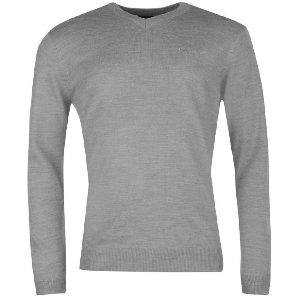 Pierre Cardin Paris 100% Cotton Herren V-Ausschnitt Pullover