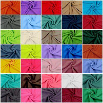 Polarfleece Antipilling Fleecestoffe Fleece Stoffe Uni- Preis gilt für 0,5 m -