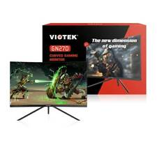 "VIOTEK GN27D 27"" HD Gaming Curved Monitor 144Hz 1440p FPS/RTS Optimized VA Panel"