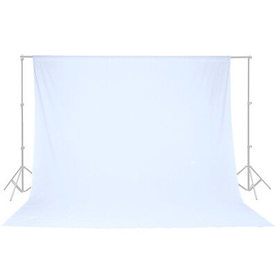 100  Cotton 10 X 10 Ft White Muslin Backdrop Photo Studio Photography Background