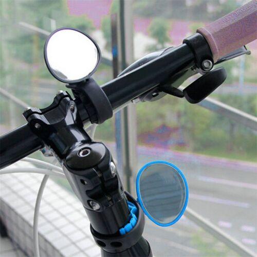 360°Universal Cycling Bike Bicycle Handlebar Rear View Rearview Reflector Mirror