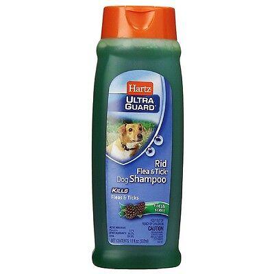 Hartz UltraGuard Rid Flea - Tick Shampoo for Dogs, Fresh Scent 18 oz