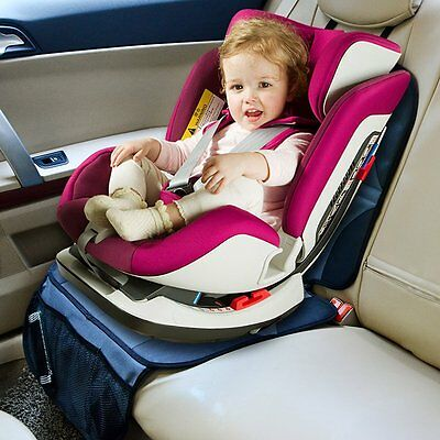 Baby Car Seat Protector Black Durable Protective Mat Child Infant Protection New