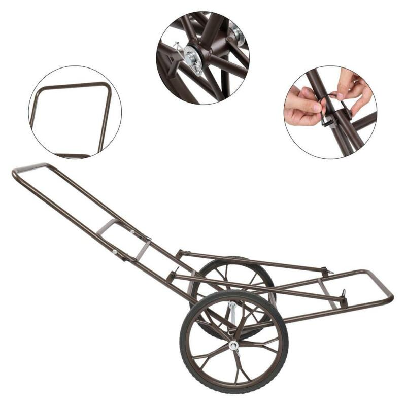Outdoor Deer Cart Game Hauler Utility Gear Dolly Cart Hunting Accessories