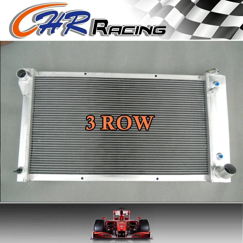3Row Aluminum Radiator For Chevy C//K Series GMC Pickup Truck Suburban 67-72