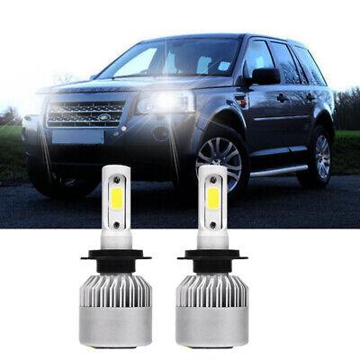 Car Headlamp Bulb 12V Land Rover Discovery Mk Ii 1998/>2004 2x Bosch H4 472