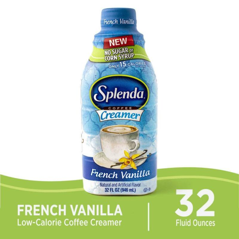 SPLENDA Sugar Free, Low Calorie French Vanilla Coffee 32 Ounce (Pack of 1)