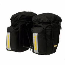 HALF PRICE TIOGA REAR PANNIER with rain cover RRP $99.99 East Perth Perth City Preview