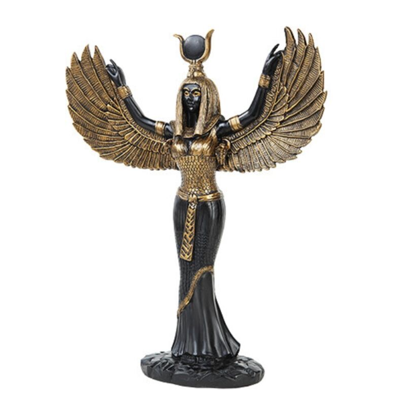 Egyptian Isis Statue Figurine New
