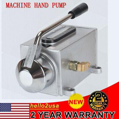 500cc Hand Pump Lubricator Lubricating Oil Pump Aluminum Alloy For Cnc Machinery