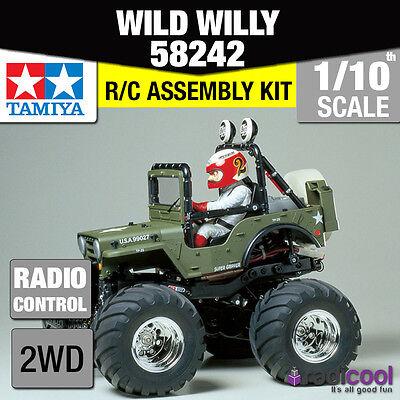58242 TAMIYA WILD WILLY 2 WR-02 1/10th R/C KIT RADIO CONTROL 1/10 CAR NEW!