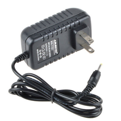 AC 100-240V to 6V 2A DC Power Supply Adapter with 1.7mm x 4.0mm Tip Center +