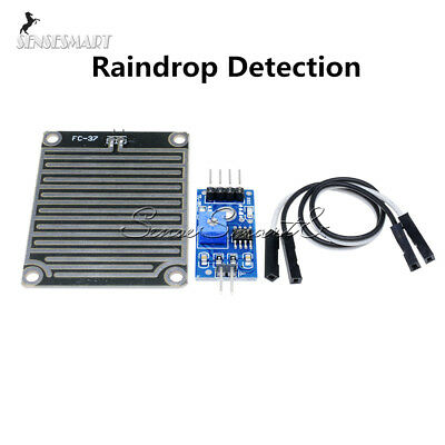 Rain Sensor Weather Module Raindrops Detection Moduel Humidity For Arduino