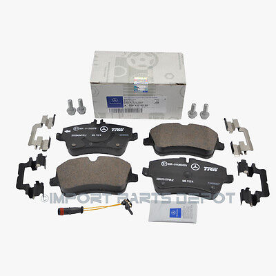 Mercedes Front Brake Pads Pad Set Genuine OE 0056220 + Sensor 21117 VIN#REQUIRED