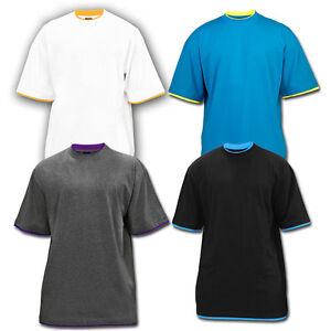 Urban Classics Contrast Tall T Shirt 4 Colours M 6xl Ebay