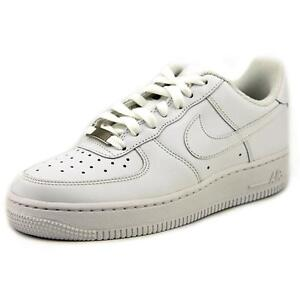Nike W Air Force 1 Low 07 Womens 315115 112 White Athletic Shoes Size 8